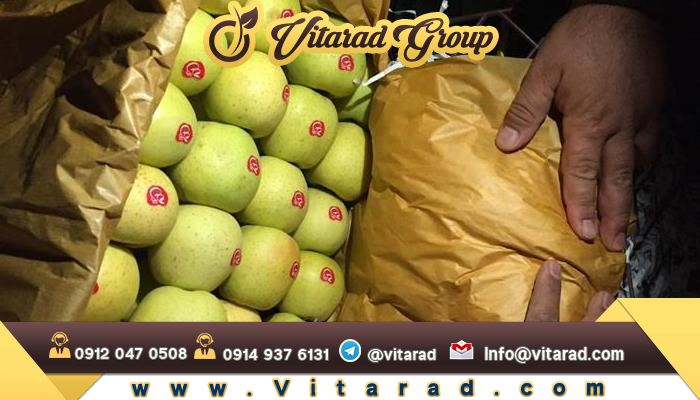 The amount of production in Iran's red and golden delicious apples roses: