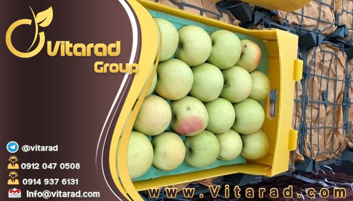 Packaging rules and prices of apples for export